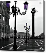Morning - St. Mark's Square Acrylic Print