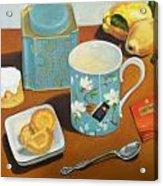 Morning Tea Acrylic Print