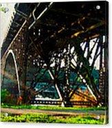 Morning Under The Bridge Acrylic Print