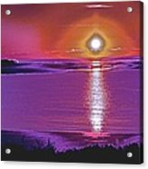 Morning Vibrations Acrylic Print