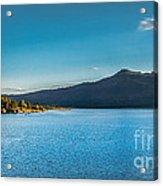Morning View Of Cascade Reservoir  Acrylic Print