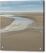 Morning Walk At Crane Beach Acrylic Print