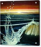 Morning Waves Acrylic Print