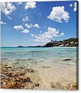 Morningstar Beach Acrylic Print by Jo Ann Snover