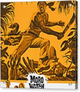Moro Witch Doctor, Us Poster Art, 1964 Acrylic Print