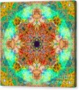 Moroccan Sun Mandala Acrylic Print