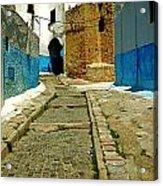 Moroccan Road Acrylic Print