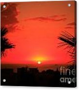 Moroccan Sunset Acrylic Print