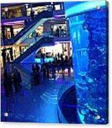 Morocco Mall Blue Acrylic Print