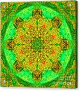Morocco Mandala Acrylic Print