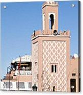 Morocco Mosque Acrylic Print