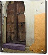 Morocco Old City Casablanca Acrylic Print by Ali ArtDesign