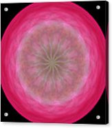 Morphed Art Globe 12 Acrylic Print by Rhonda Barrett