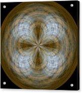 Morphed Art Globe 24 Acrylic Print