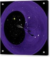 Morphed Art Globe 6 Acrylic Print