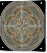 Morphed Art Globes 25 Acrylic Print