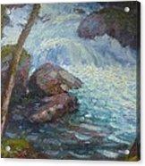Morraine Ck. Fiordland Nz. Acrylic Print