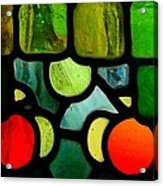 Morris Stained Glass Acrylic Print