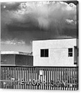 Morrison Cloud Bw Palm Springs Acrylic Print