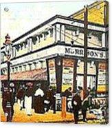 Morrison's Theatre In Rockaway Beach Queens N Y 1912 Acrylic Print