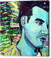 Morrissey Acrylic Print by Kat Richey