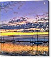 Morro Bay Panorama Acrylic Print