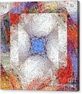 Mosaic 114-02-13 Marucii Acrylic Print