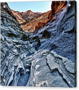 Mosaic Canyon In Death Valley Acrylic Print