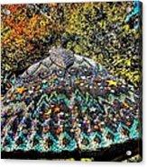 Mosaic Fly Acrylic Print