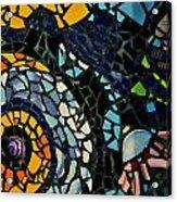 Mosaic Pattern On Wall Acrylic Print