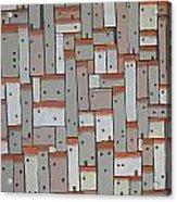 Mosaic Village 3 Acrylic Print