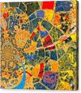 Mosaik Acrylic Print