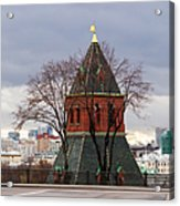 Moscow As Viewed From The Kremlin - Square Acrylic Print