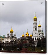Moscow Kremlin Cathedrals - Featured 3 Acrylic Print