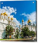 Moscow Kremlin Tour - 57 Of 70 Acrylic Print