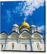 Moscow Kremlin Tour - 58 Of 70 Acrylic Print