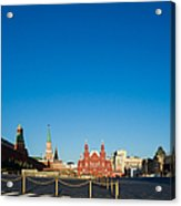 Moscow Red Square From South-east To North-west Acrylic Print