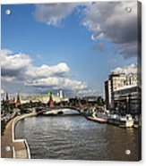 Moscow River - Russia Acrylic Print