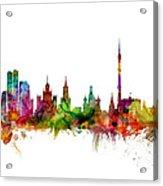 Moscow Russia Skyline Acrylic Print