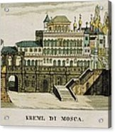 Moscow. Tsars Palace In The Kremlin Acrylic Print
