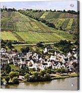 Mosel Wine Village Acrylic Print