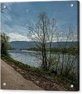 Moselle River Acrylic Print