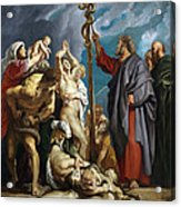 Moses And The Brazen Serpent Acrylic Print