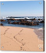 Moses Rock Beach 02 Acrylic Print