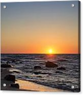 Moshup Beach Sunrise Acrylic Print