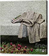 Mosiac Bench Acrylic Print