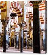 Mosque Cathedral Of Cordoba  Acrylic Print