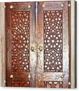 Mosque Doors 03 Acrylic Print