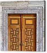 Mosque Doors 05 Acrylic Print