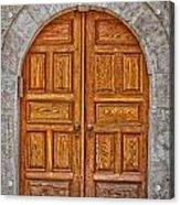 Mosque Doors 06 Acrylic Print